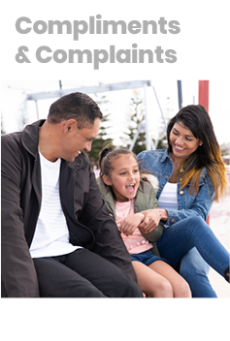 Download the compliments and complaints brochure